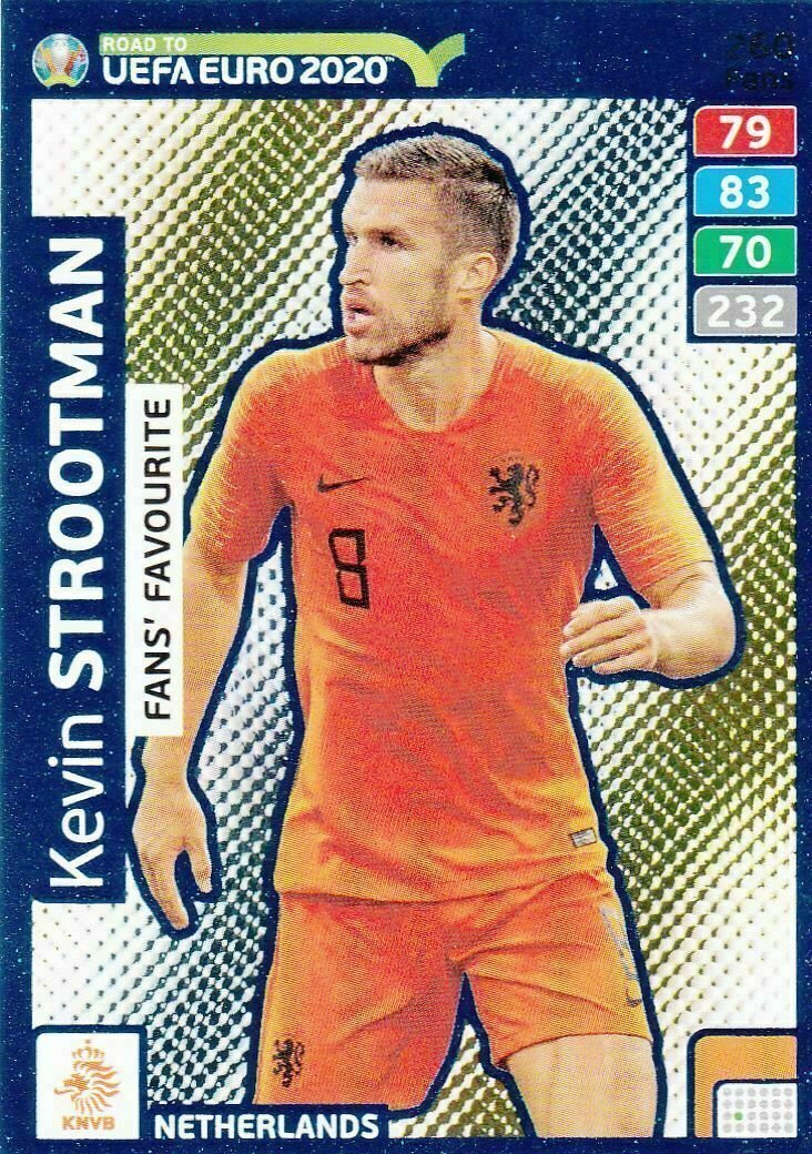 Panini Adrenalyn Road to 2020, KEVIN STROOTMAN Fans Favourite