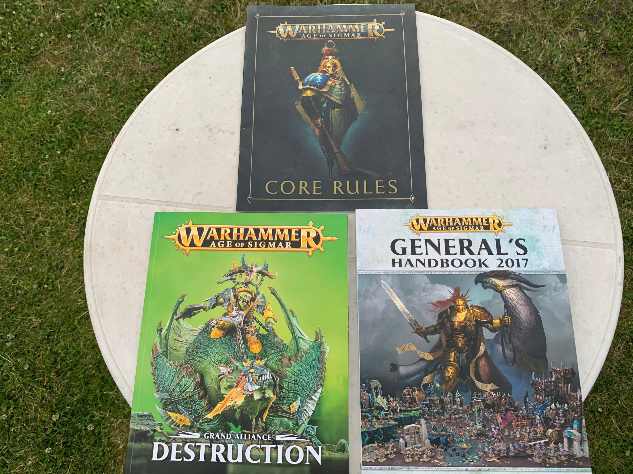 Warhammer Age of Sigmar Core rules, Destruction och Generals handbook