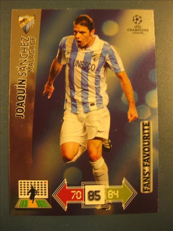 FANS FAVOURITE -  JOAQUIN SANCHEZ - MALAGA - CHAMPIONS LEAGUE UPDATE 2012-2013
