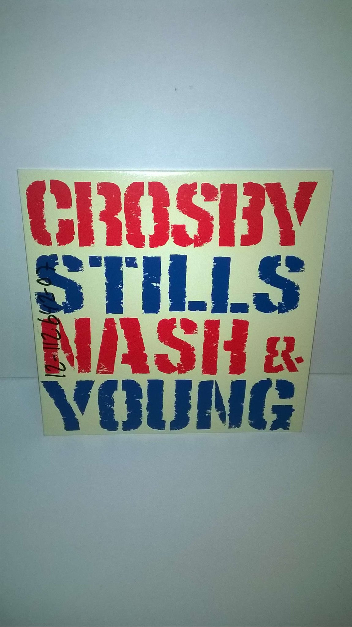Crosby, Stills, Nash & Young - Looking Forward, CD, promo