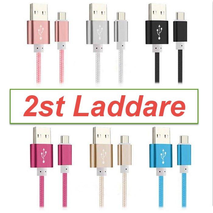 2st USB C kabel 1,5M laddsladdladdare Q.. (313116225) ᐈ