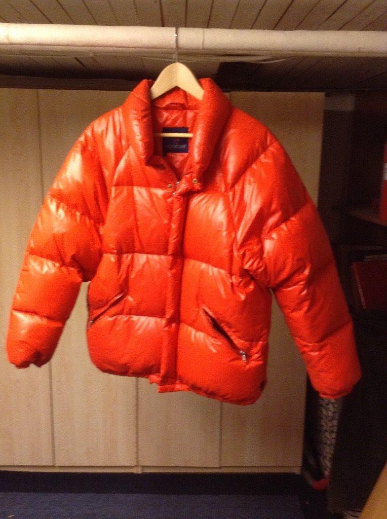 Moncler Jacka Orange