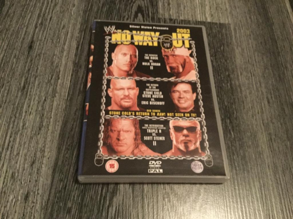 WWE No Way Out 2003(Mycket Bra Skick)(Wrestling)