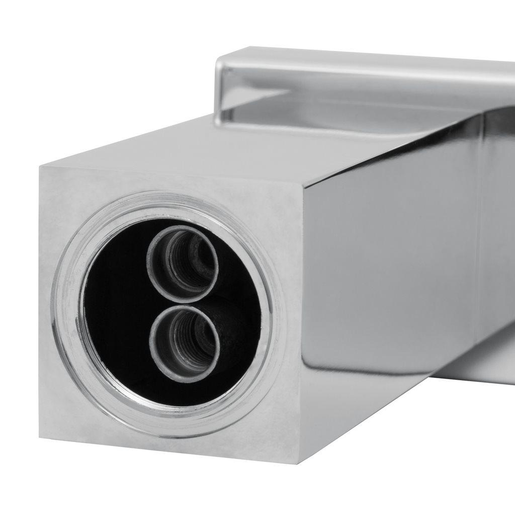 TecTake Tvättställsblandare / blandare vattenfall enhandsbla på