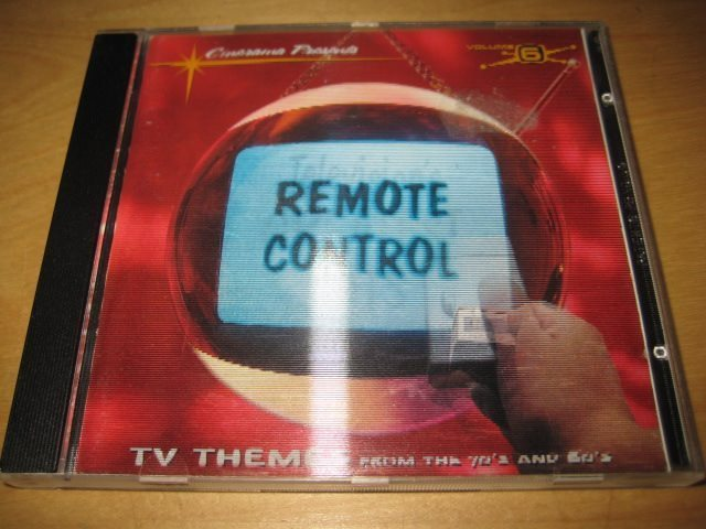 televisions greatest hits vol. 6 remote control