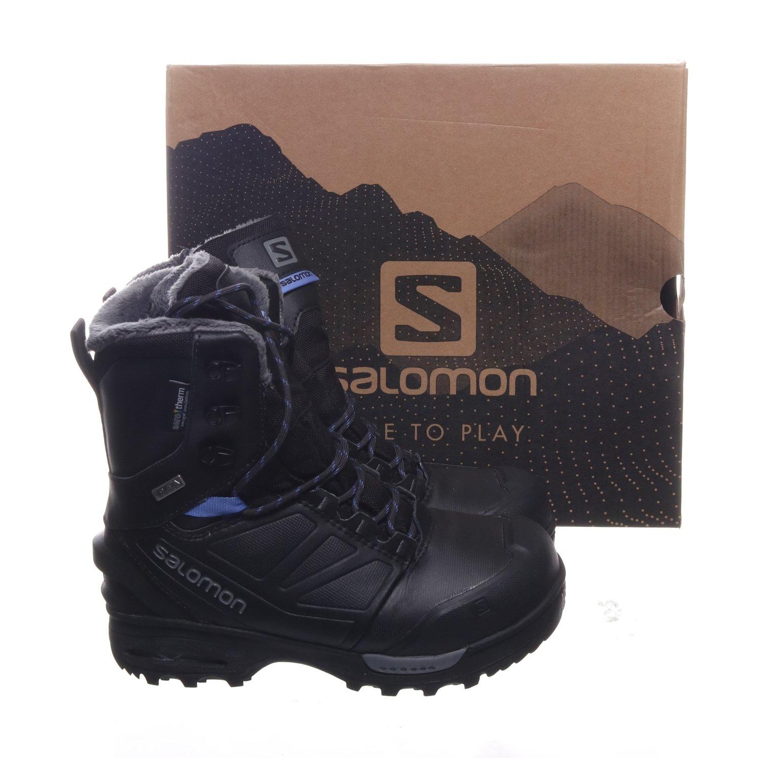 Salomon, Kängor, Strl: 38, Toundra Pro CSWP W, Svart