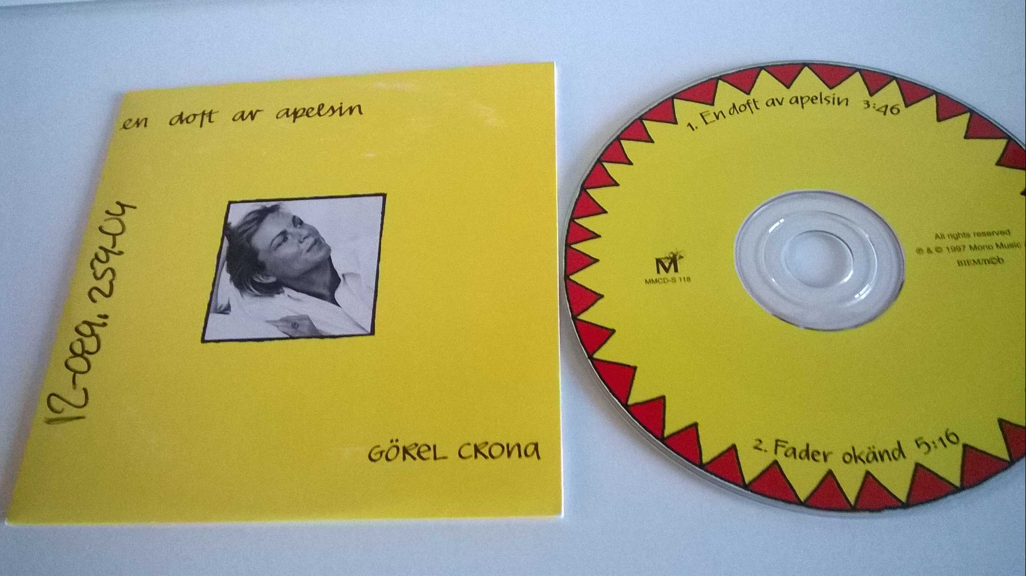 Görel Crona - En doft av apelsin, single CD