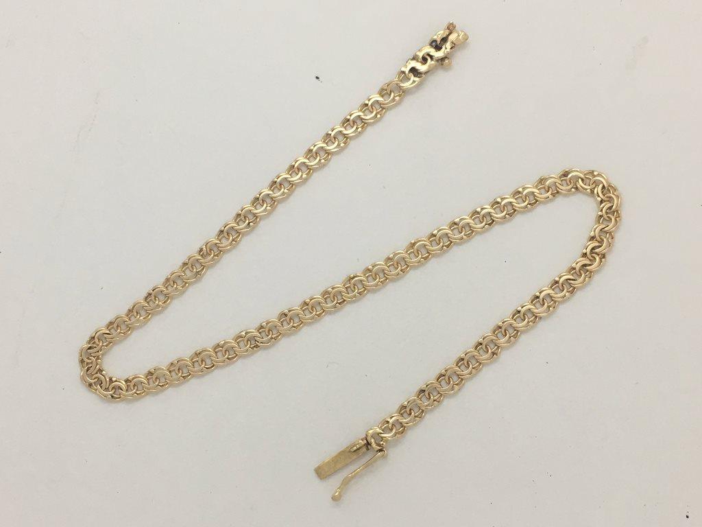 Armband bismarck 18k guld (325899687) ᐈ Guldhusetmalmo på Tradera 2abca3a478509