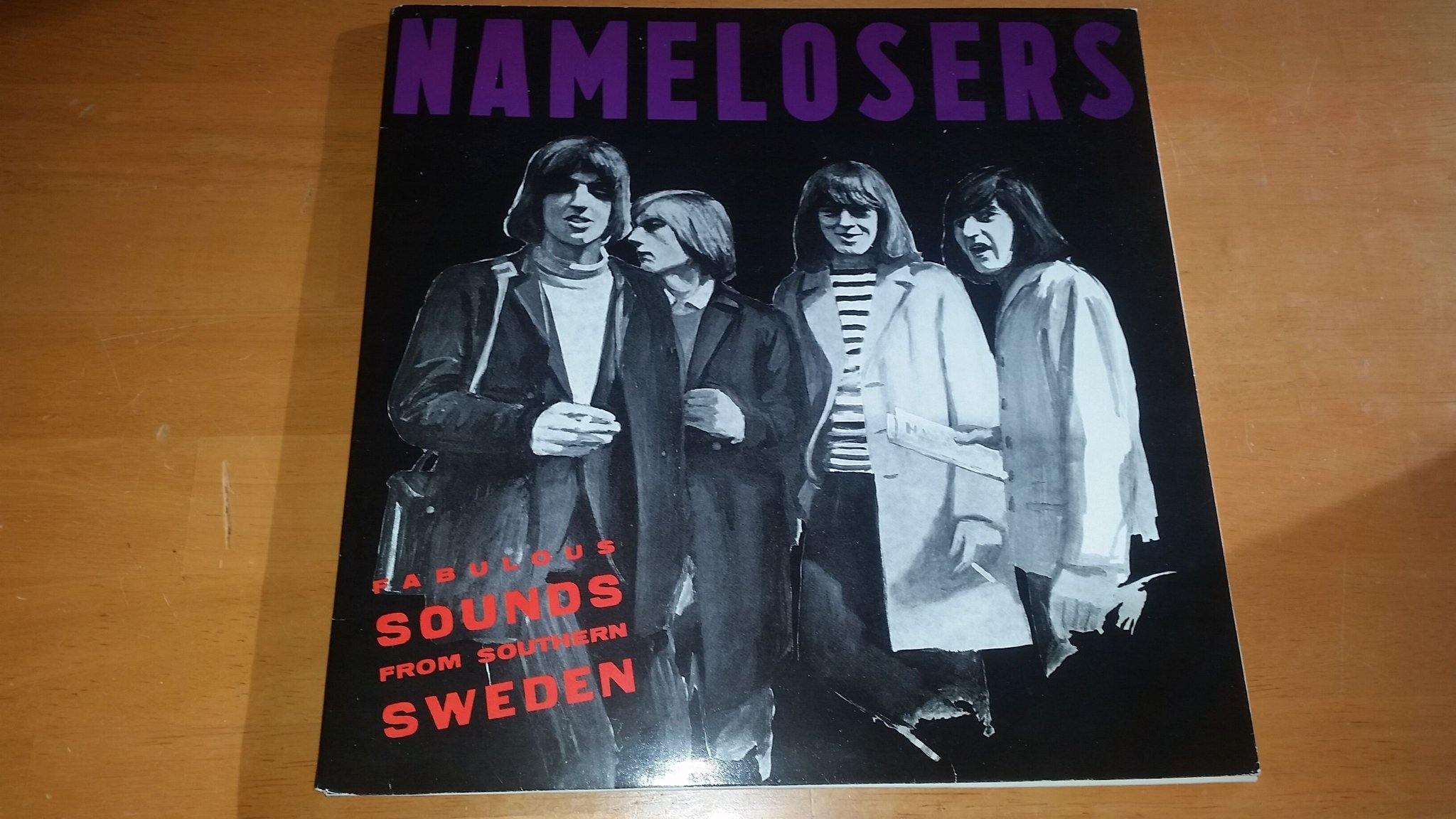 NAMELOSERS - Fabulous sounds from southern Sweden, Gatefold LP