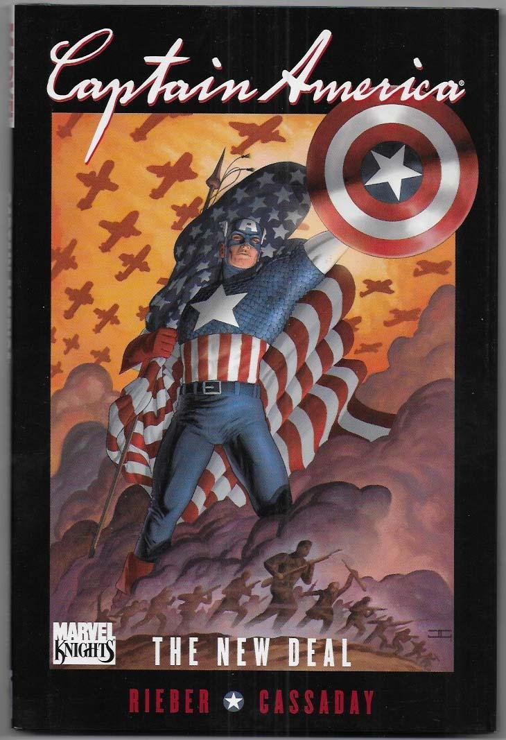 Captain America: The New Deal HC NM-