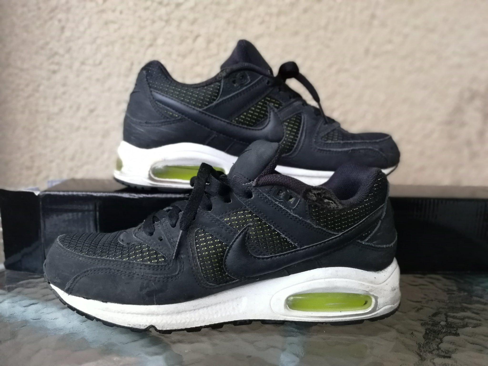 release date: 98290 5a805 Nike, Storlek 41, Air Max, Svart Grön