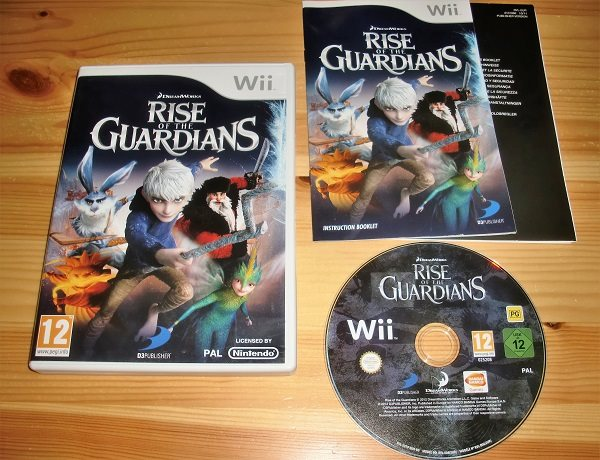 Wii: Rise of the Guardians