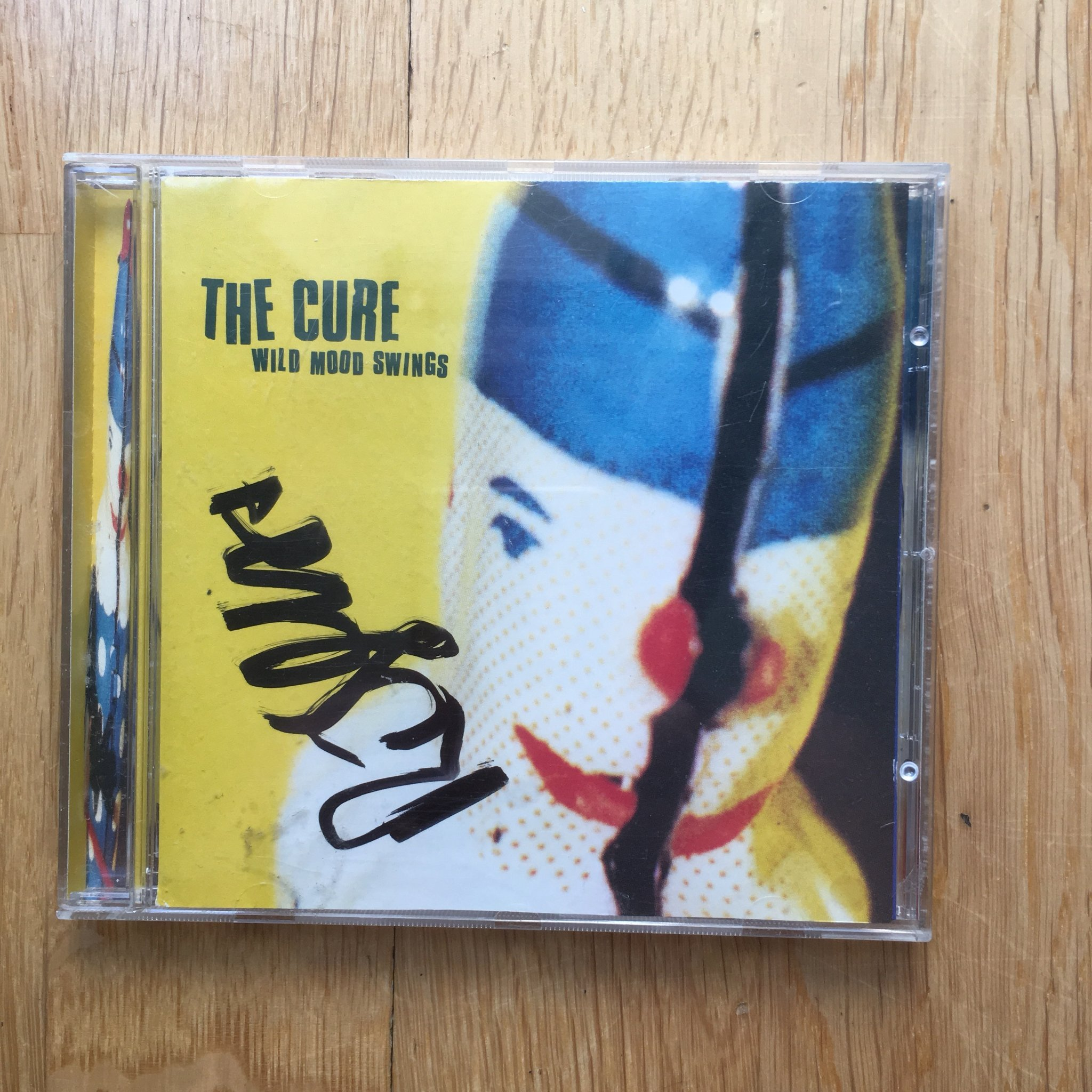 Wild Mood Swings The Cure signerad (Robert Smith) CD