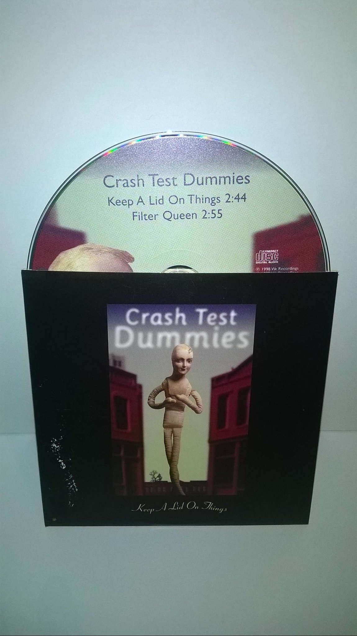 Crash Test Dummies · Keep A Lid On Things, single CD