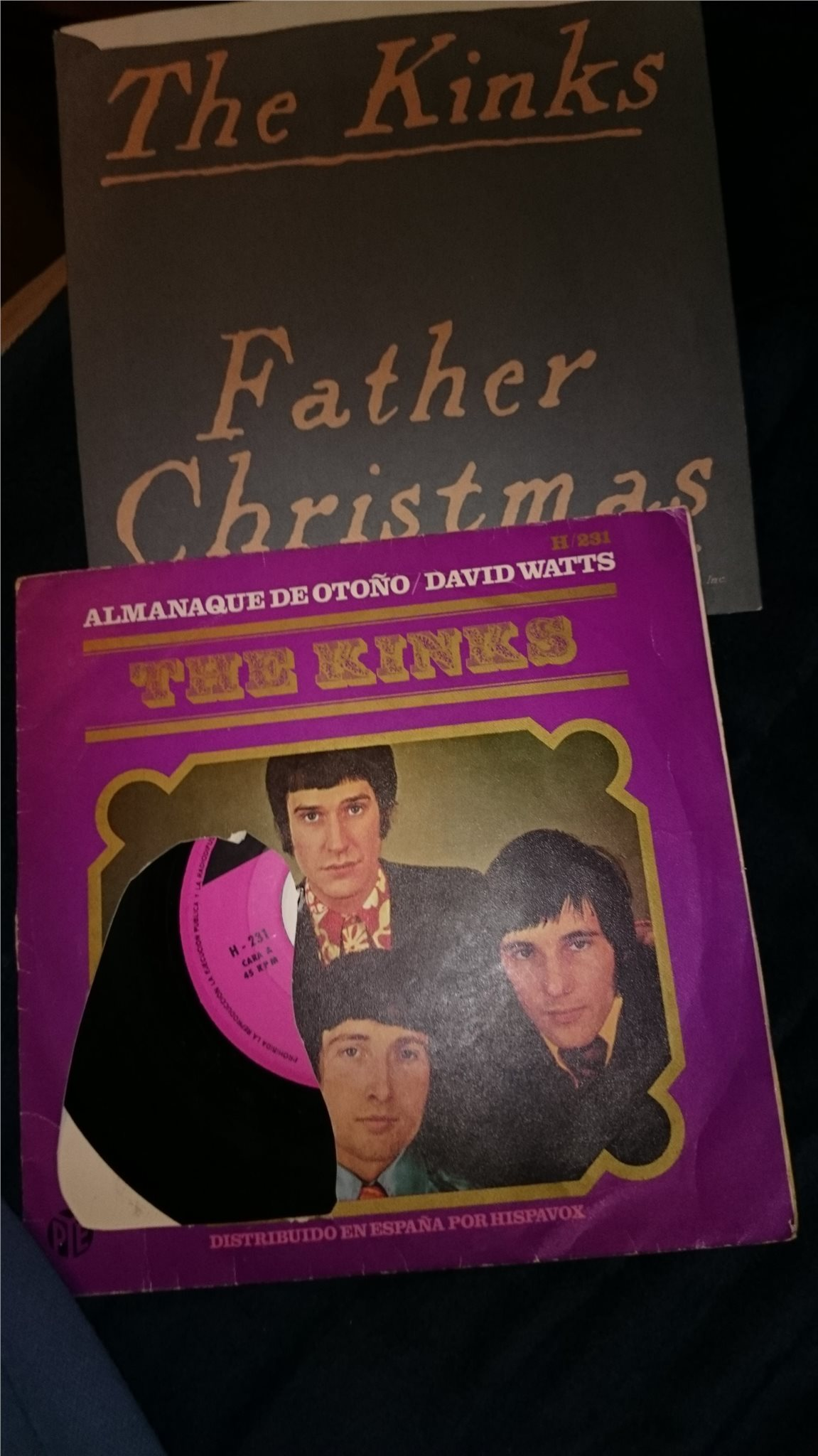 Kinks - Father Christmas och Almanaque de otono (307398145) ᐈ Köp ...