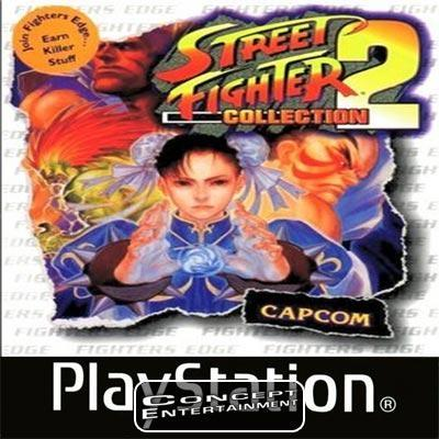 STREET FIGHTER COLLECTION 2 (komplett) till Sony Playstation, PS1