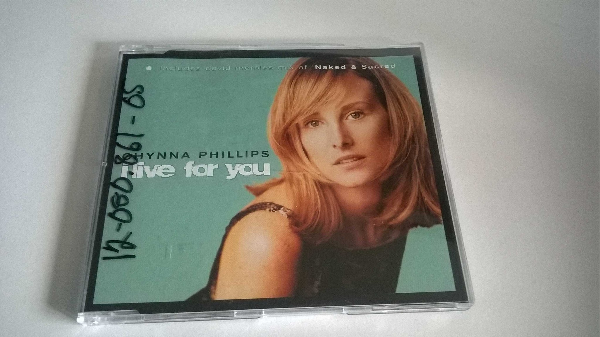 Chynna Phillips - I Live For You, (naked & secret) CD