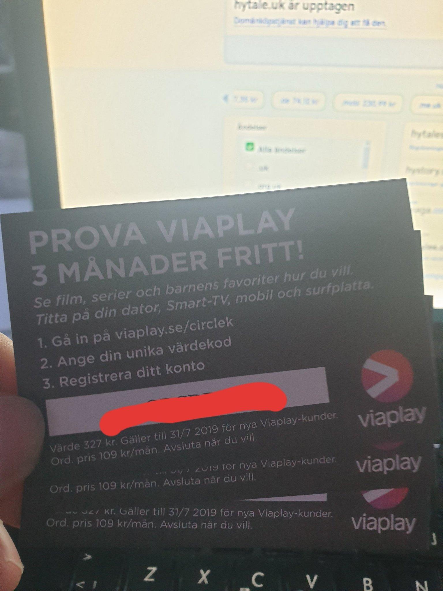 Viaplay Gratis Kod