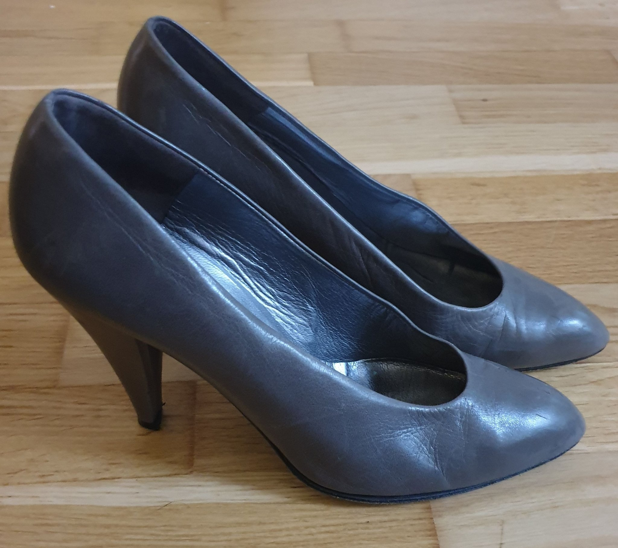 Design Charles Jourdan vintage pumps.st. 38 (4 1/2)