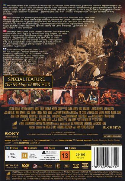 Serien Len ben hur mini serien dvd inplastad på tradera com på dvd