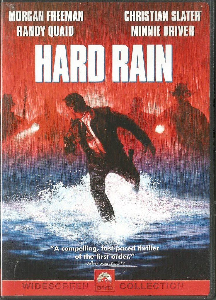 HARD RAIN - MORGAN FREEMAN - OBS REGION 1 DVD    (335038015