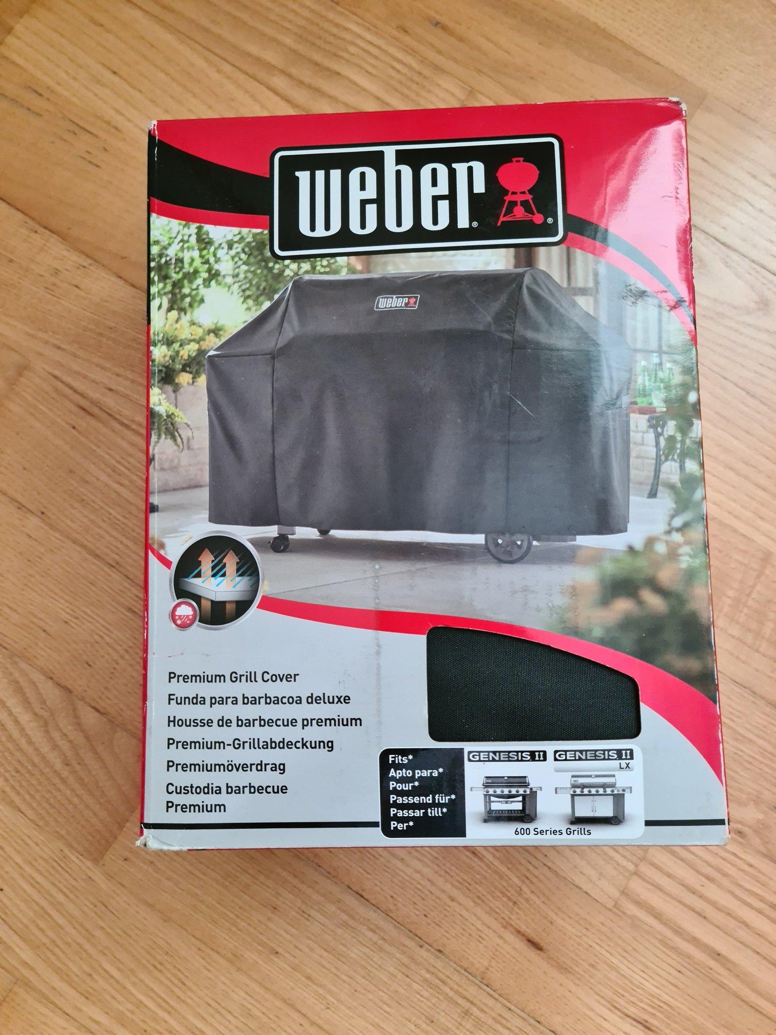 Beställ Premiumöverdrag Genesis II 600 series från Weber