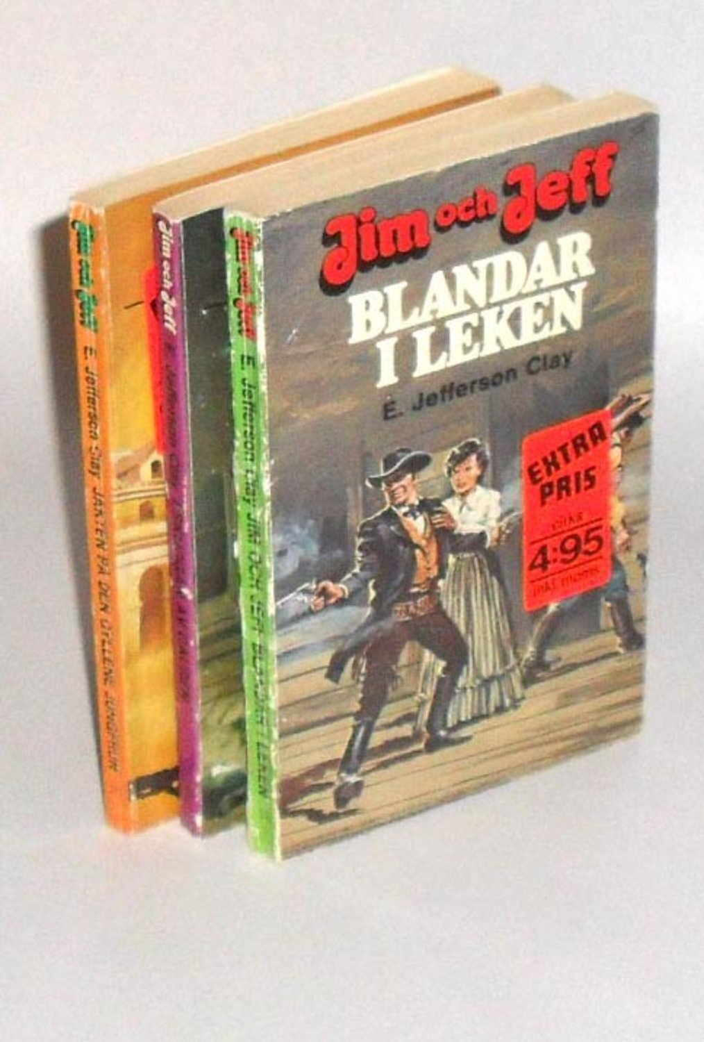 E. Jefferson Clay : 3 Böcker; Jim & Jeff; 31 Jakten på den