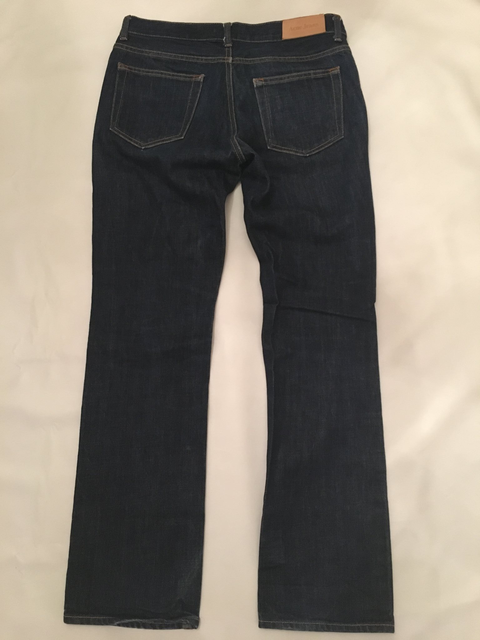ACNE jeans jeans jeans Mic Another Raw blå strl 32/32 bf50b0