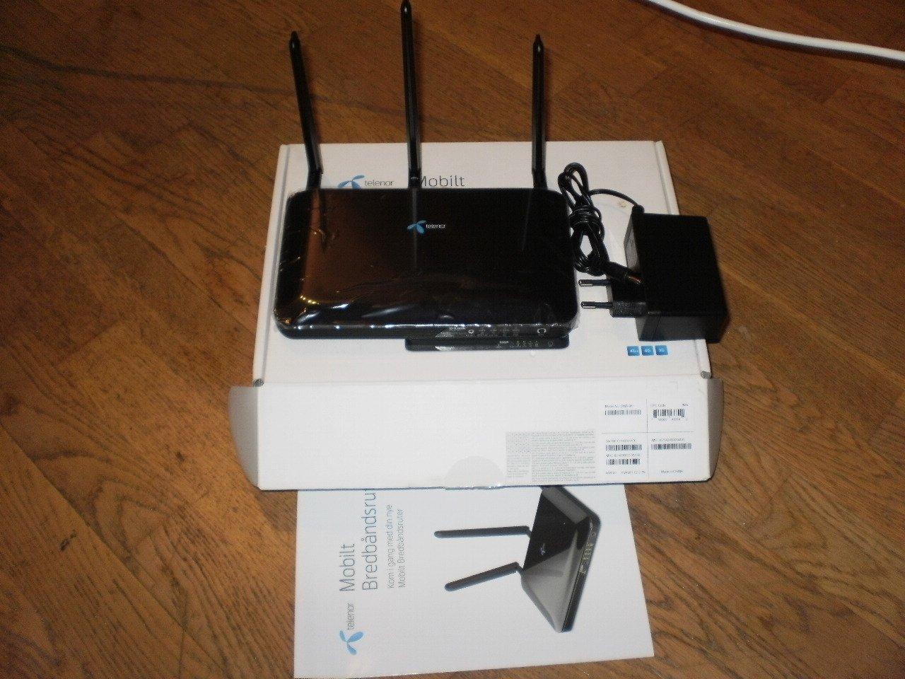 D-LINK DWR-961 3G/4G MOBIL BREDBAND TELENOR(D-L   (360639635