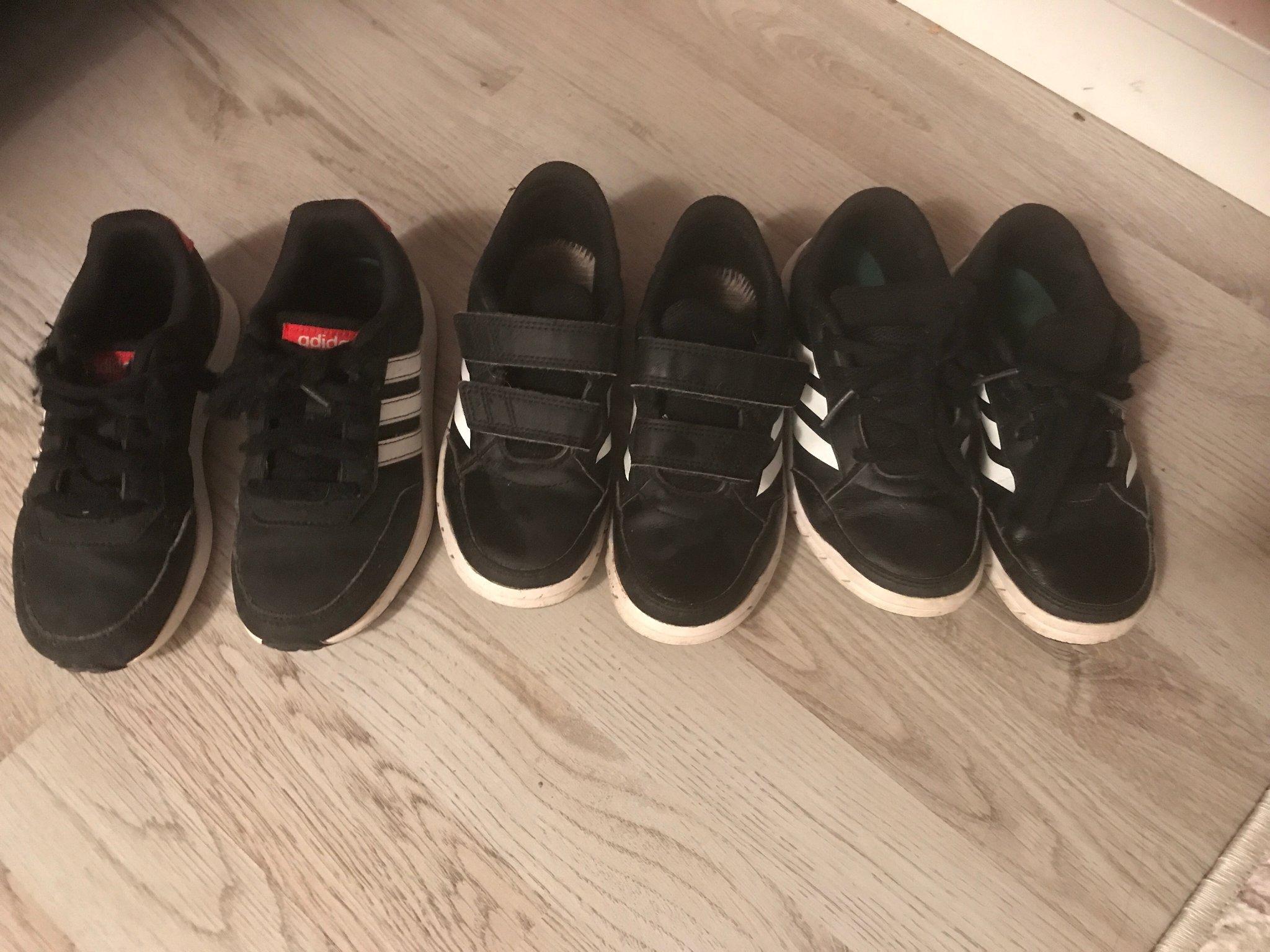 Adidas skor stl 29 (17,5) 3 par (396675964) ᐈ Köp på Tradera
