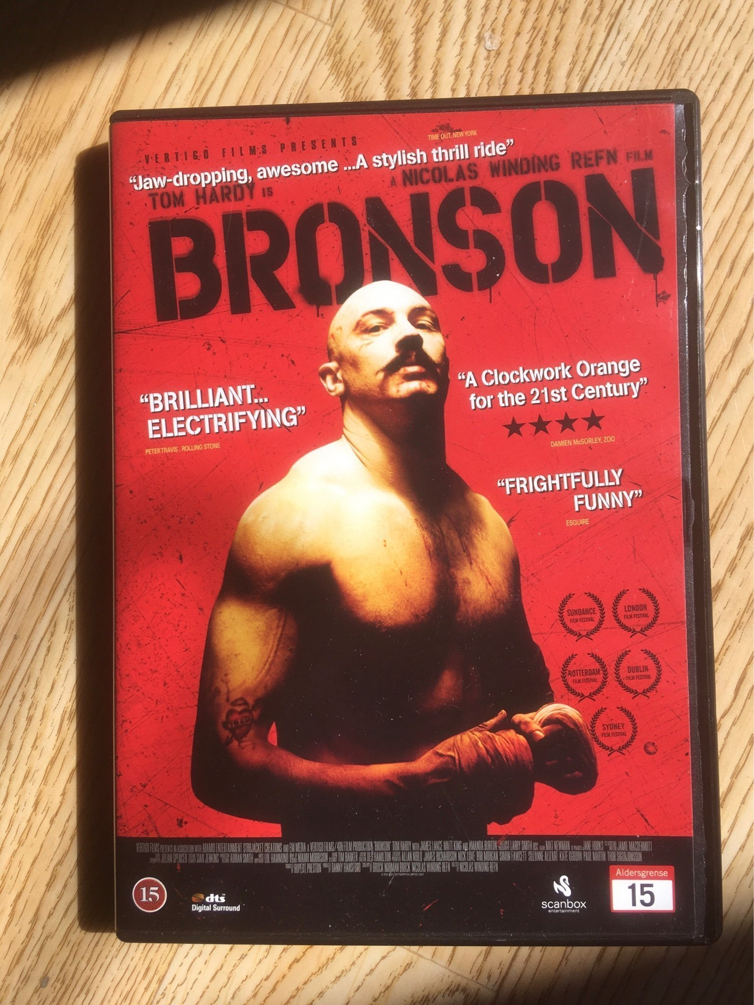 Bronson Tom Hardy Nicolas Winding Refn special edition sv text