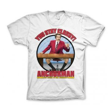 Anchorman T-shirt You Stay Classy XL