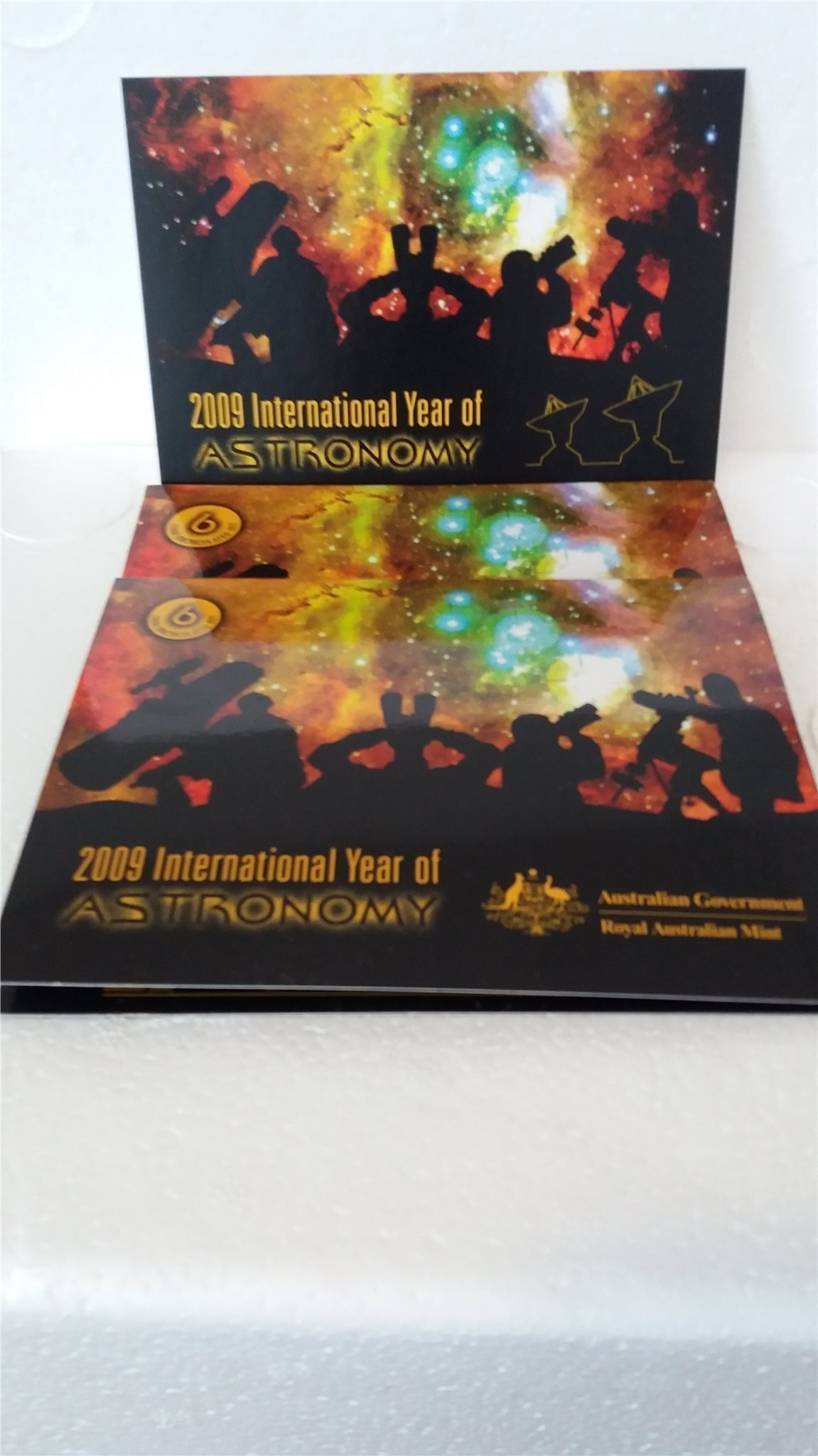 2009 International year of astronomy Australian Goverment Royal Australian Mint