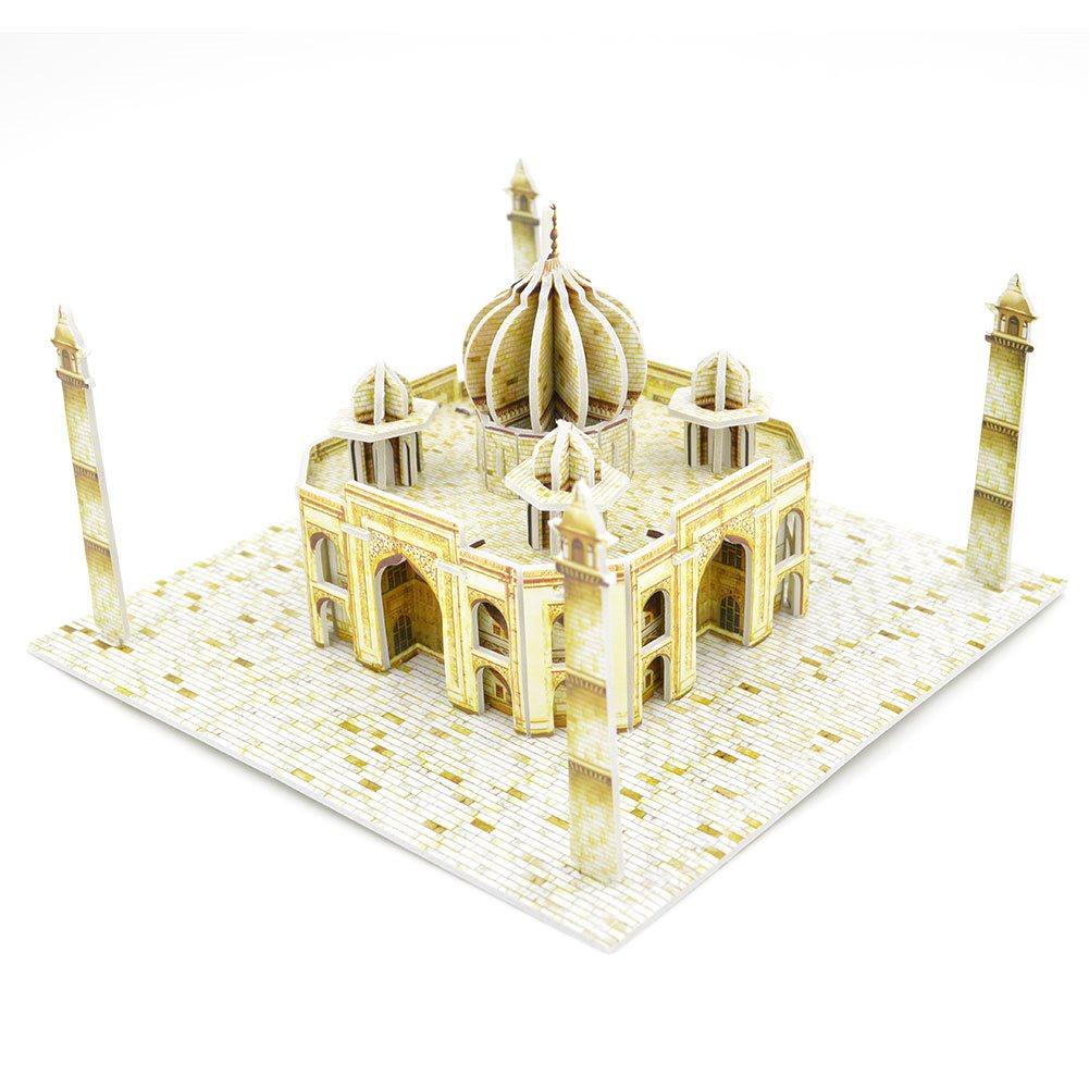 3D Pussel Taj Mahal Jigsaw Mini Taj Mahal DIY Toy
