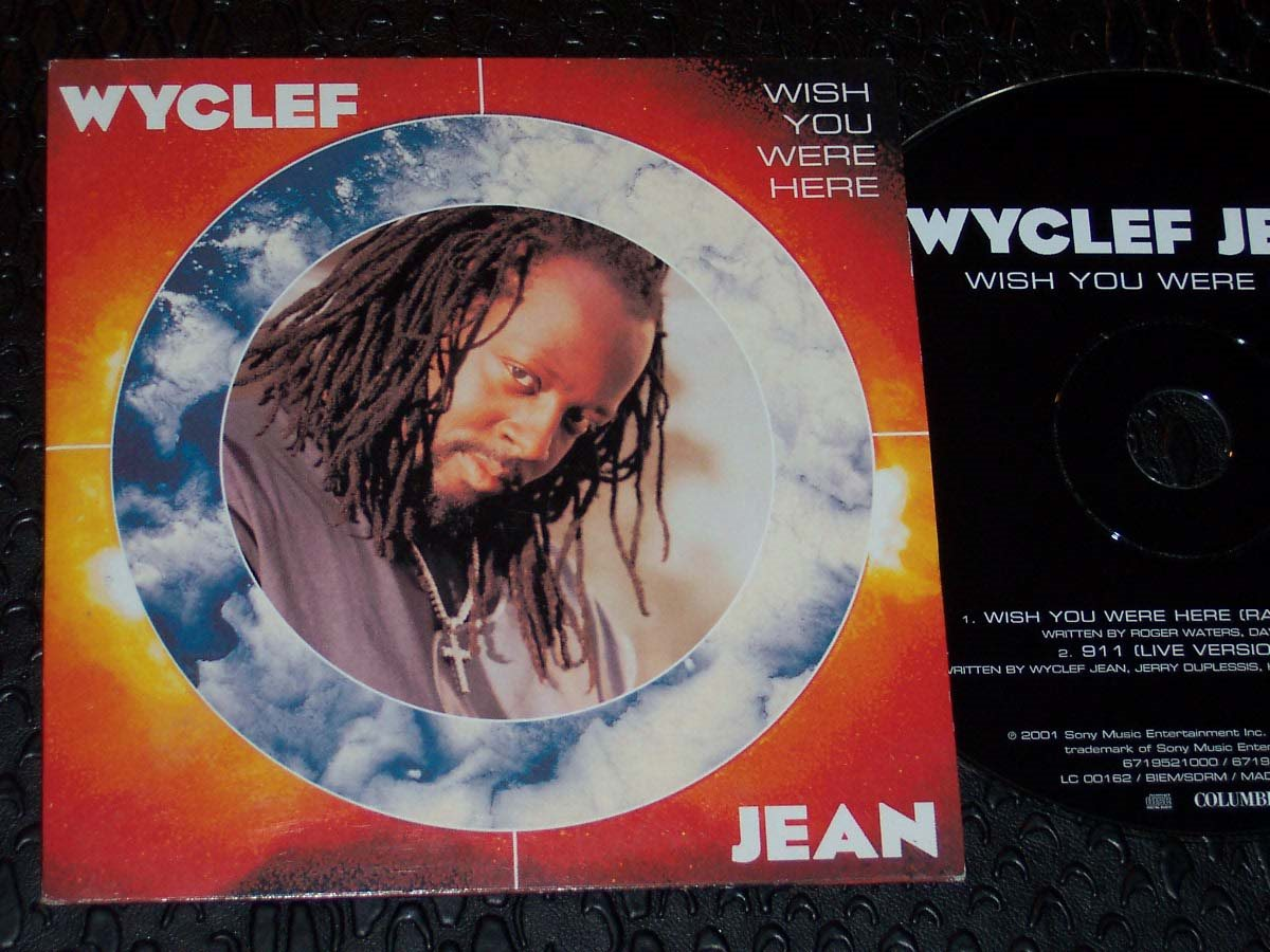 WYCLEF JEAN - WISH YOU WERE HERE CD SINGEL 2001 (335411503