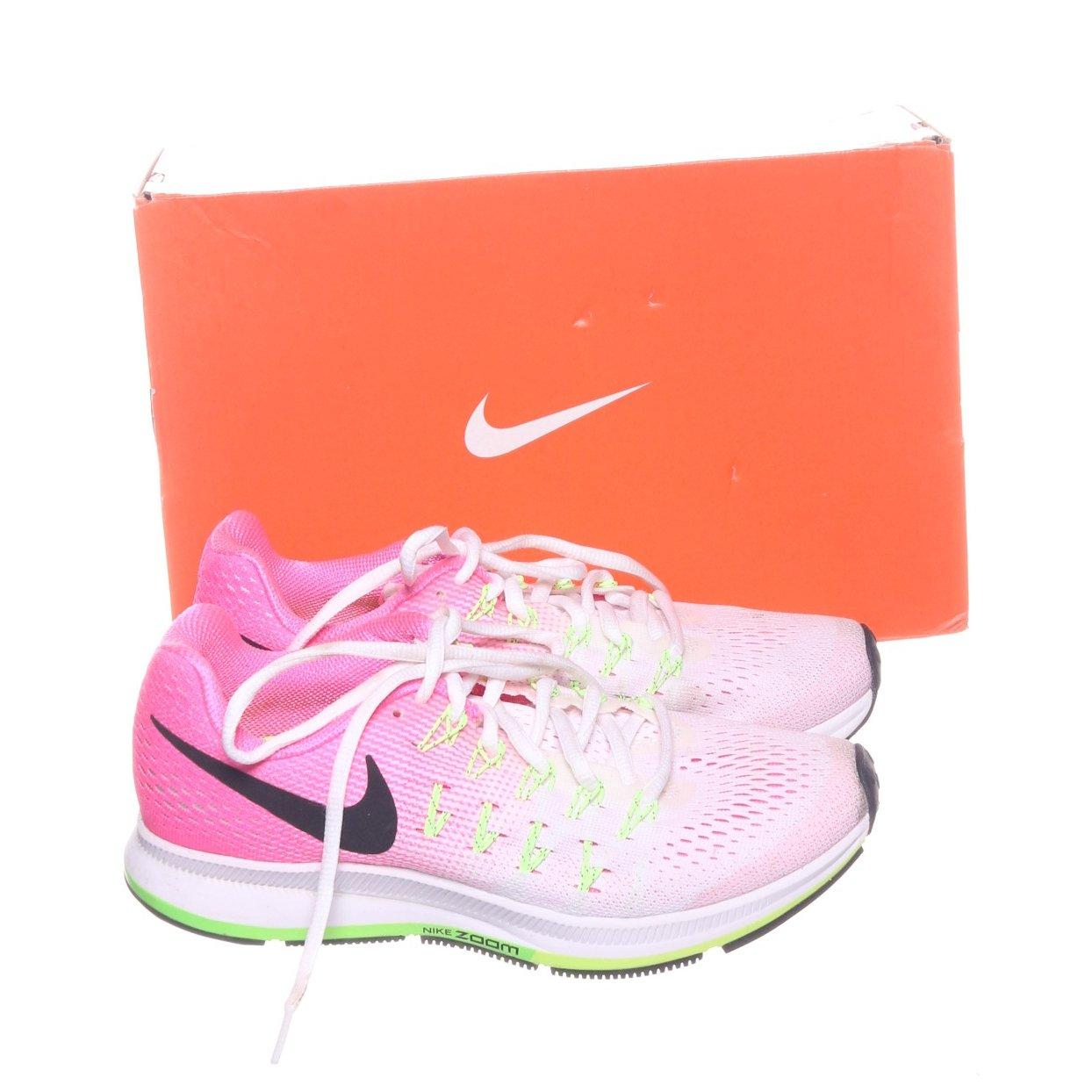 brand new 3df4b 532f0 Nike, Löparskor, Strl  36,5, Zoom Pegasus 33, Vit