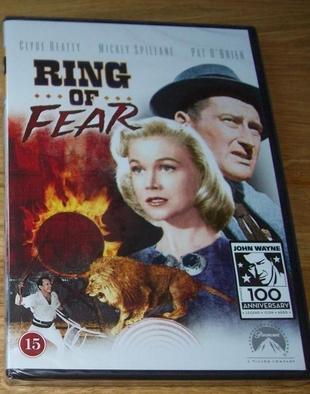 RING OF FEAR (1954) Fruktans arena, NY inplastad DVD svensk text FRI FRAKT