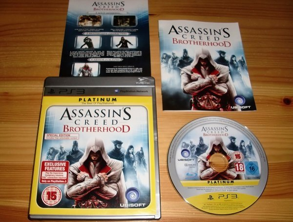 PS3: Assassins Creed Brotherhood