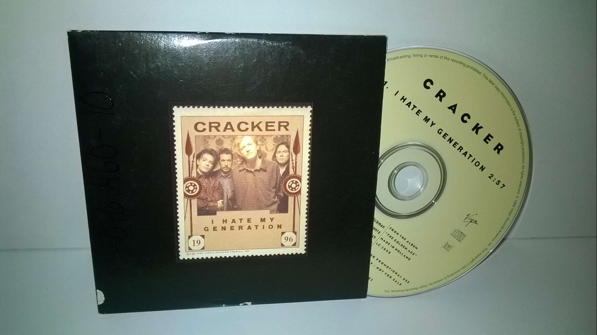 Cracker - I Hate My Generation, single CD