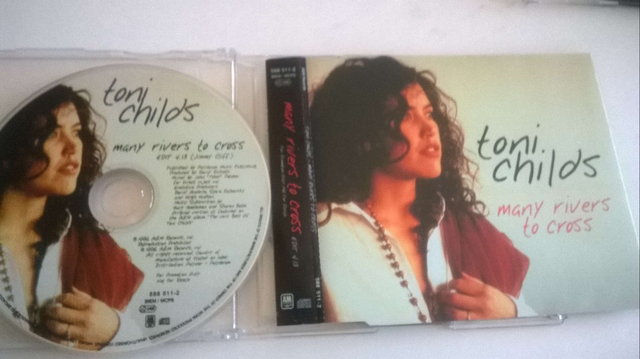 Toni Childs - Many Rivers To Cross, CD, Single, Promo