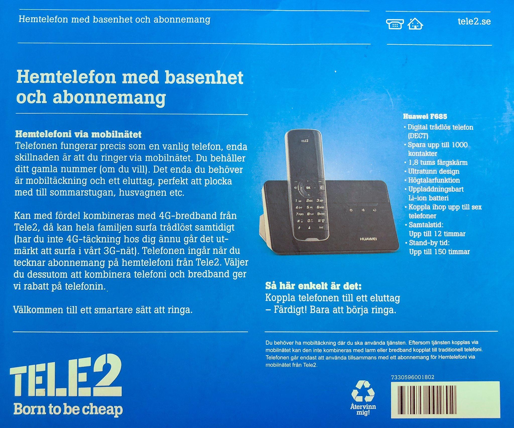 bredband via mobilnätet