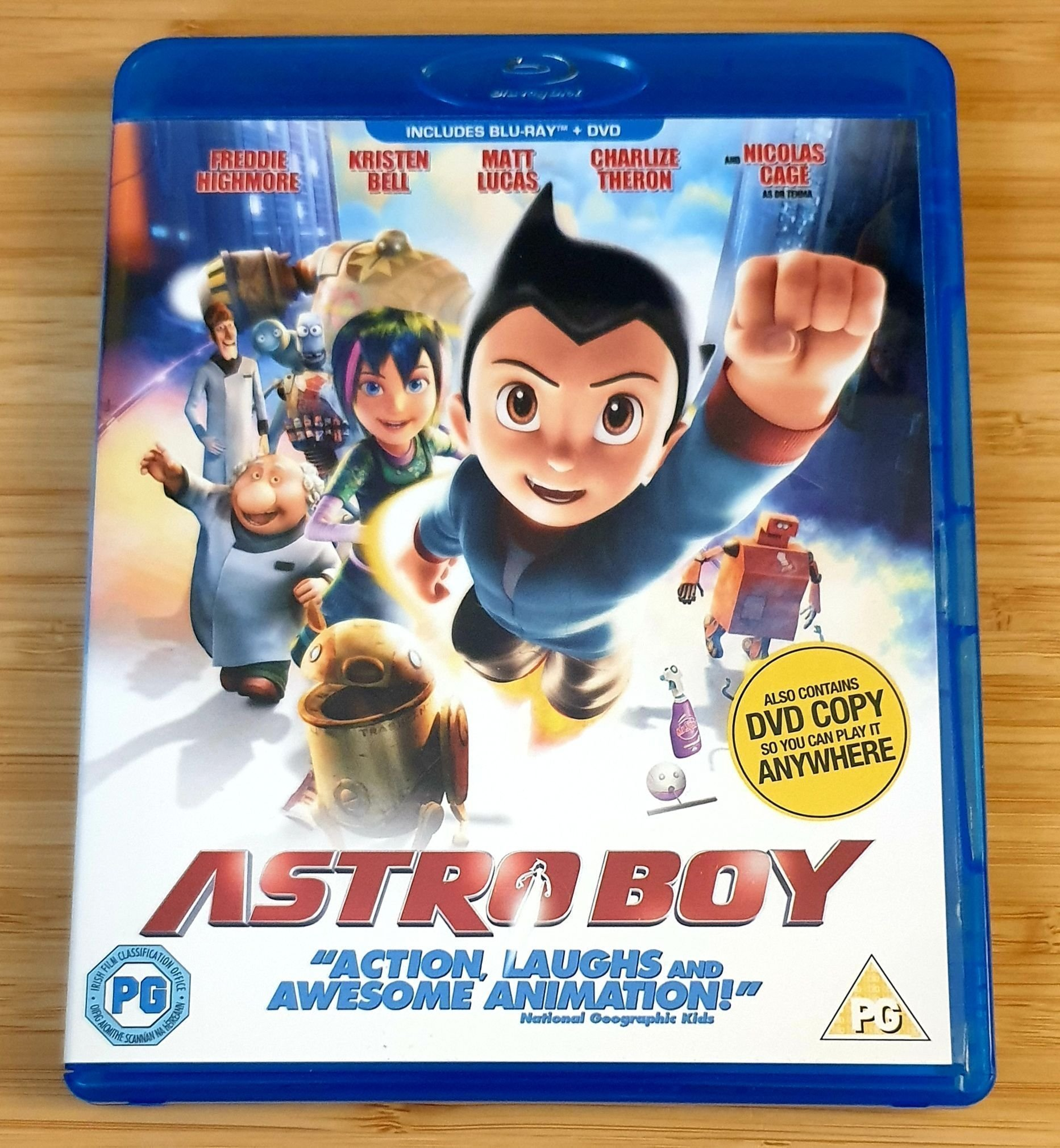 Astro Boy (Blu-ray + DVD) UK import