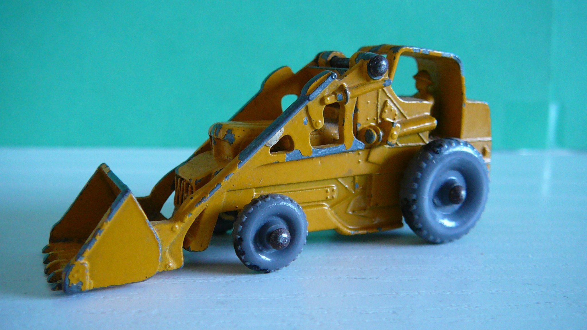 Weatherill Hydraulic Excavator - Matchbox Lesney No. 24b
