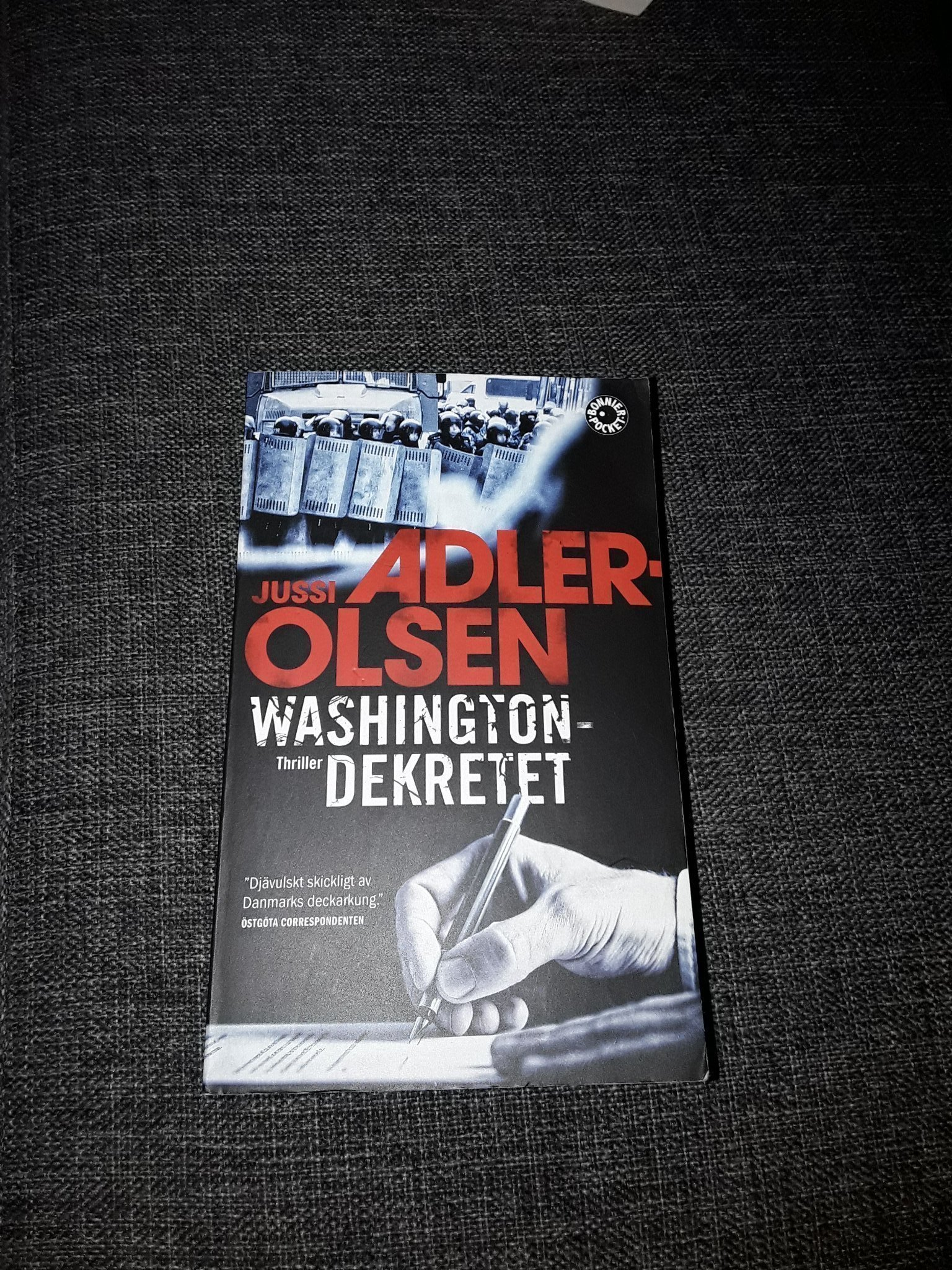 Jussi Adler Olsen- Washington-dekretet