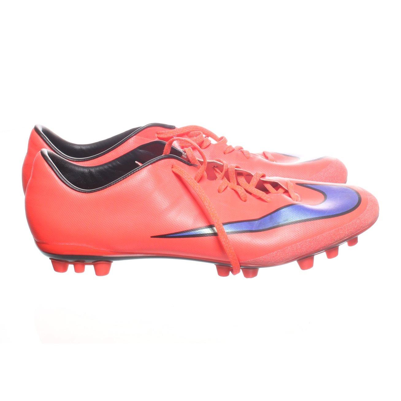 new product bc16b f3102 Nike, Fotbollsskor, Strl  43, Mercurial, Röd Lila
