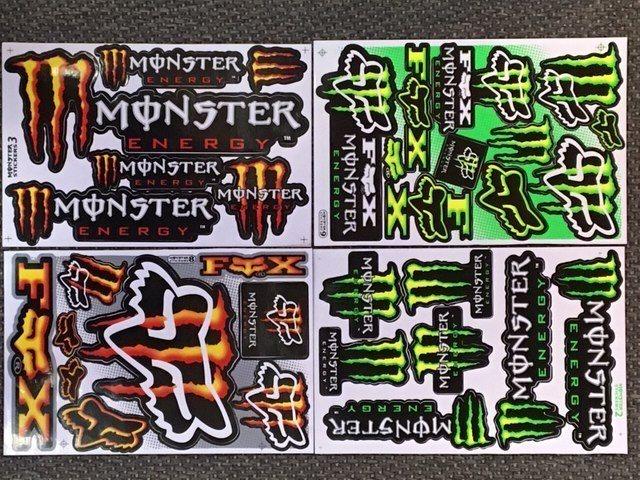 Monster dekaler klistermärken 4 st ark (338789367) ᐈ Köp på Tradera 95b26a65279e5