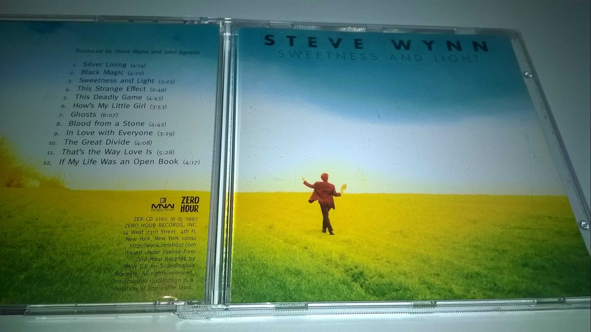 Steve Wynn ?- Sweetness And Light, CD