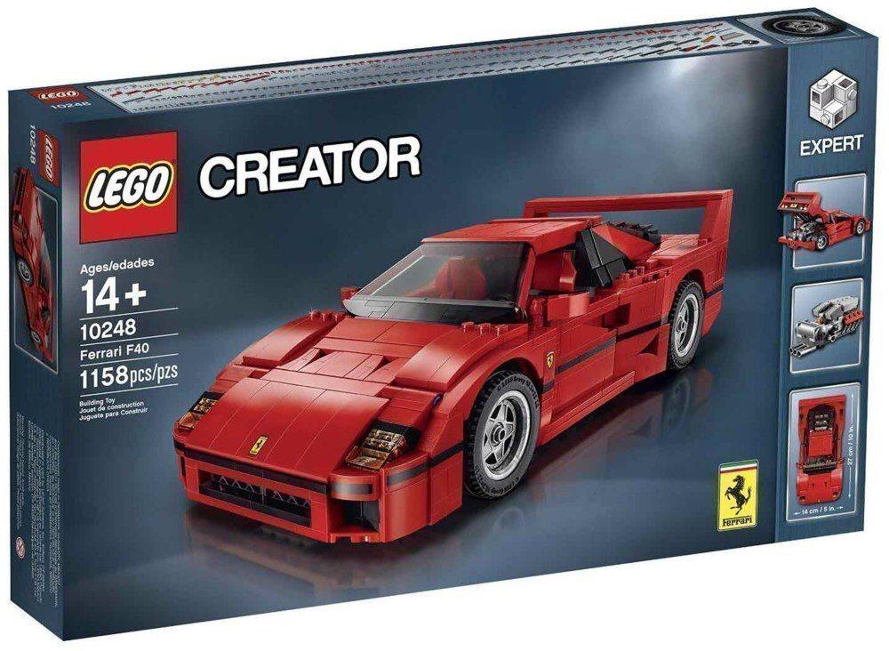 LEGO Creator 10248  Expert Ferrari F40 - Ny/ Oöppnad!