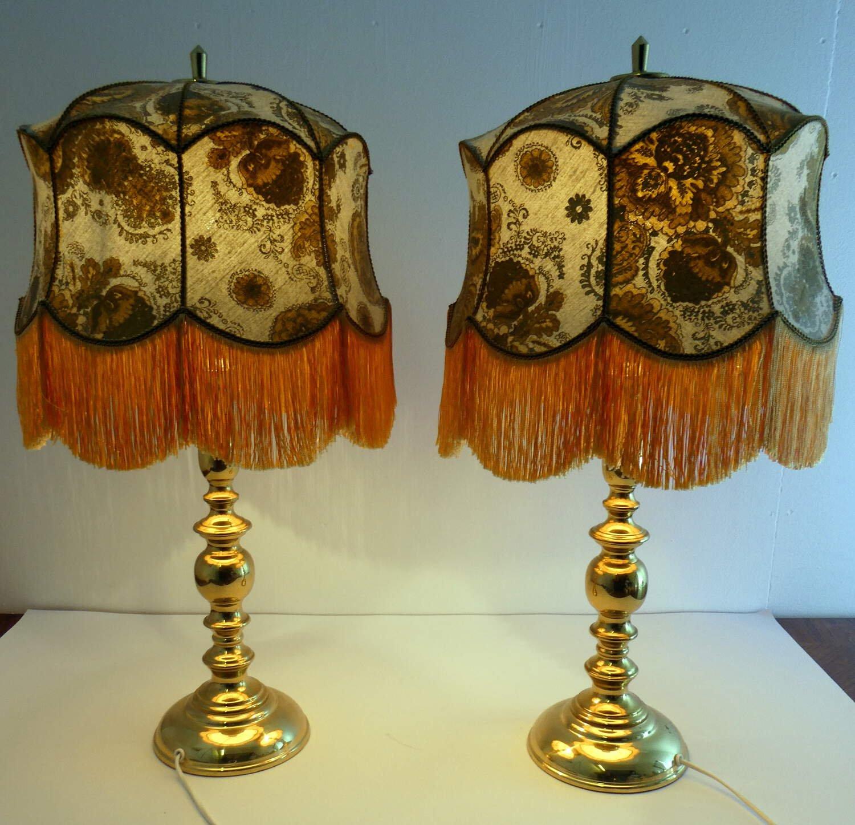1 par Bordslampor 70 talet