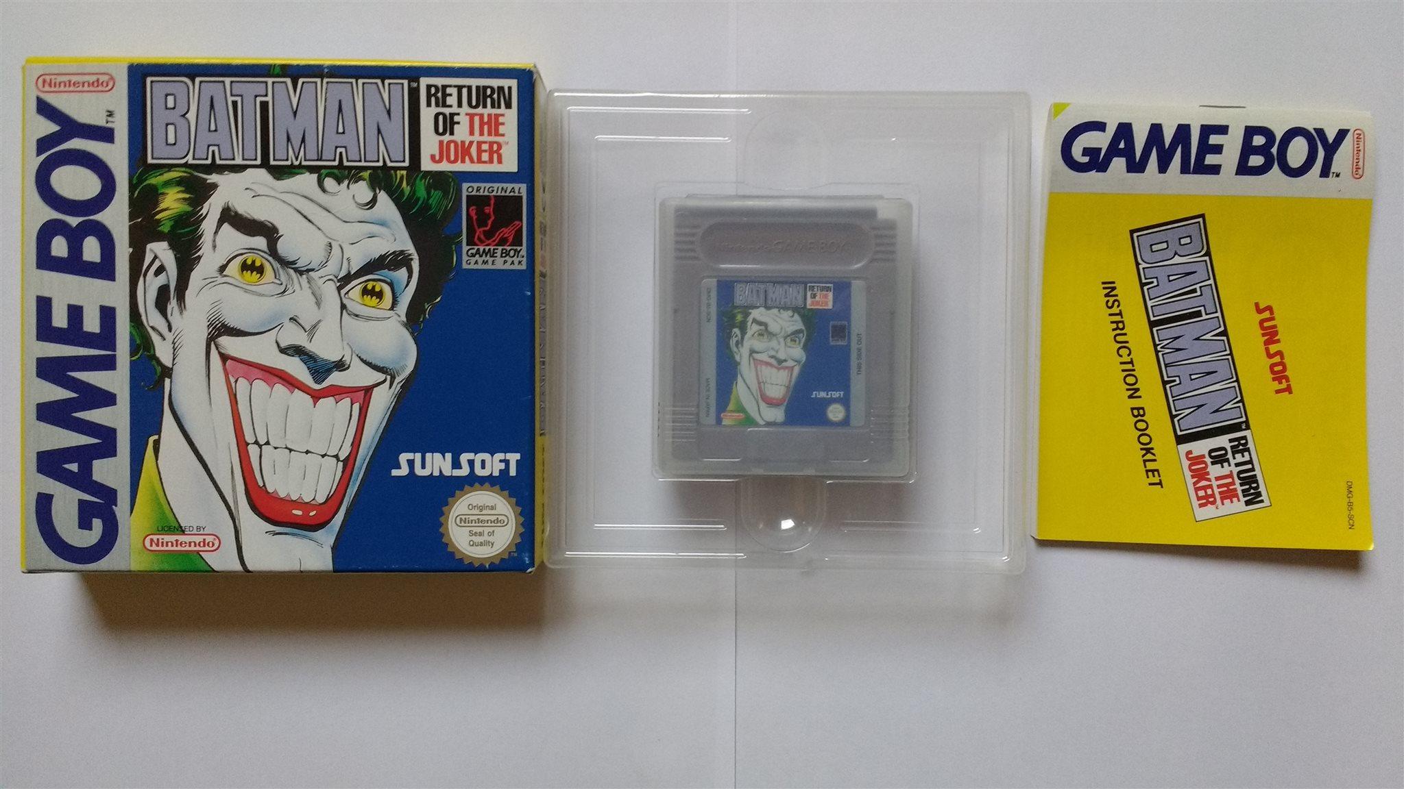 1kr Gameboy Batman Return Of The Joker Samlars 336192963 ᐈ Kop